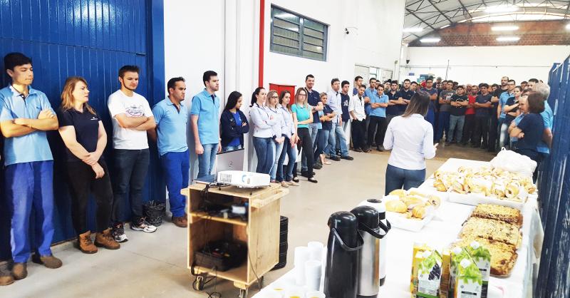 Hidroenergia homenageia seus colaboradores pelo Dia do Trabalhador