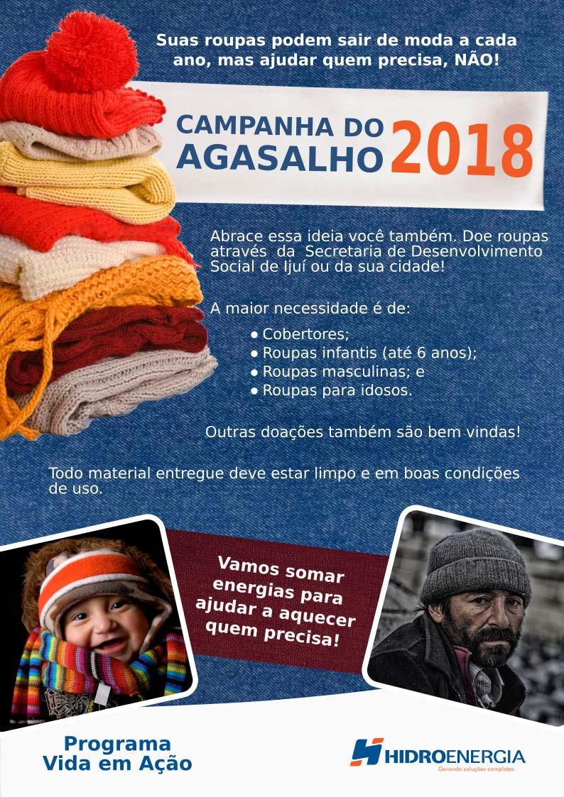 Campanha do Agasalho - Ijuí - Hidroenergia