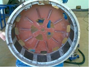 Figura 7 - Rotor com os imãs Hidroenergia