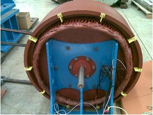Figura 9 - máquina pronta para ensaio - Hidroenergia