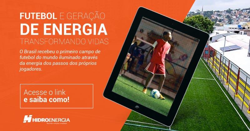 Como Futebol e Geração de Energia mudaram a vida de uma comunidade no Rio de Janeiro